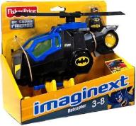 Fisher Price Imaginext batman + helikopter 24h