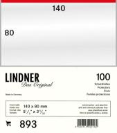 Lindner 893 - Koszulki ochronne 140x80mm (100 szt)