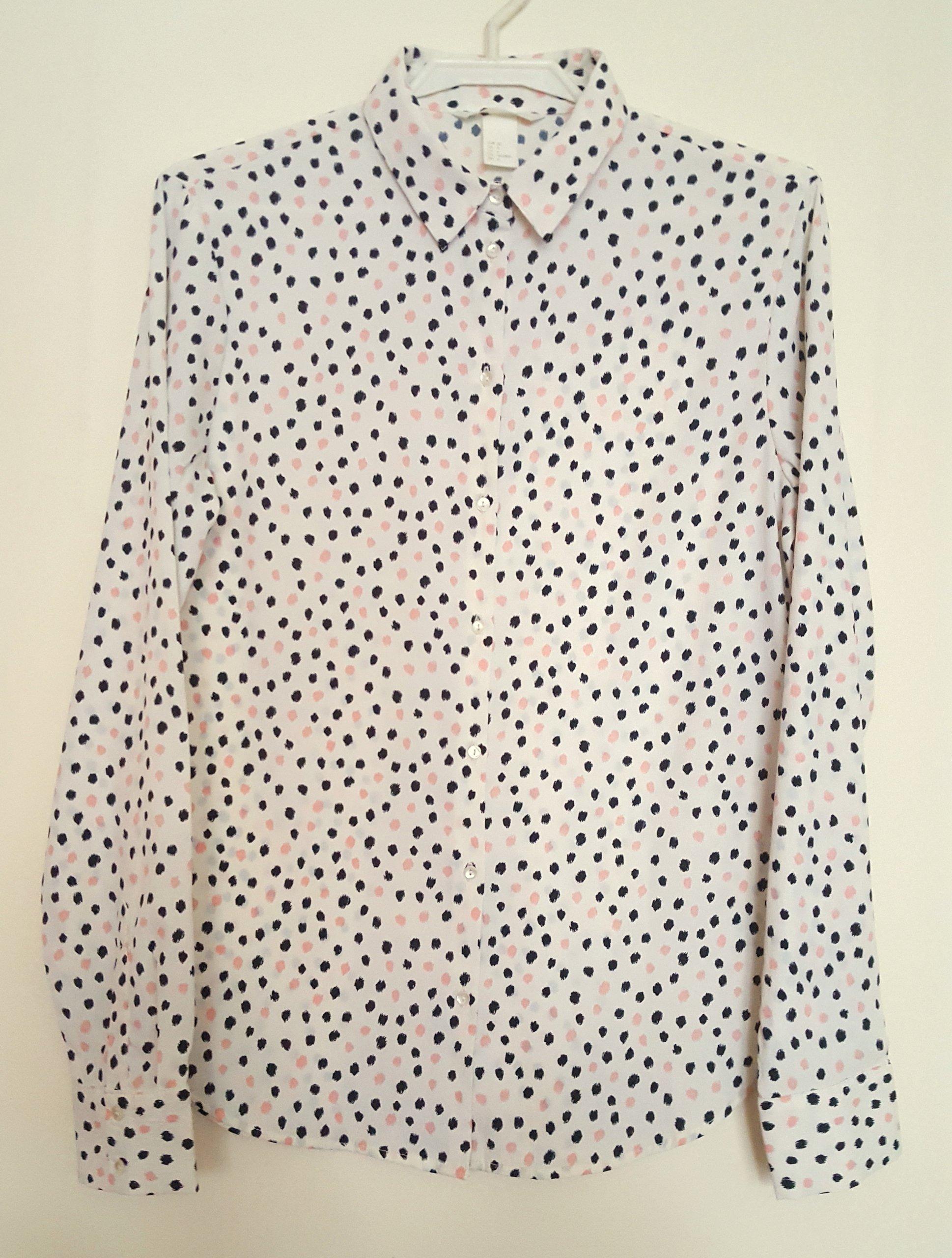 cadb958835d76b Koszula w kropki H&M rozm XS - 7051781380 - oficjalne archiwum allegro