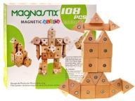 Drewniane Klocki Magnastix 108 magnesów HIT