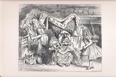 Alicja W Krainie Czarów Kot Bajka Carroll Anglia 6713969531