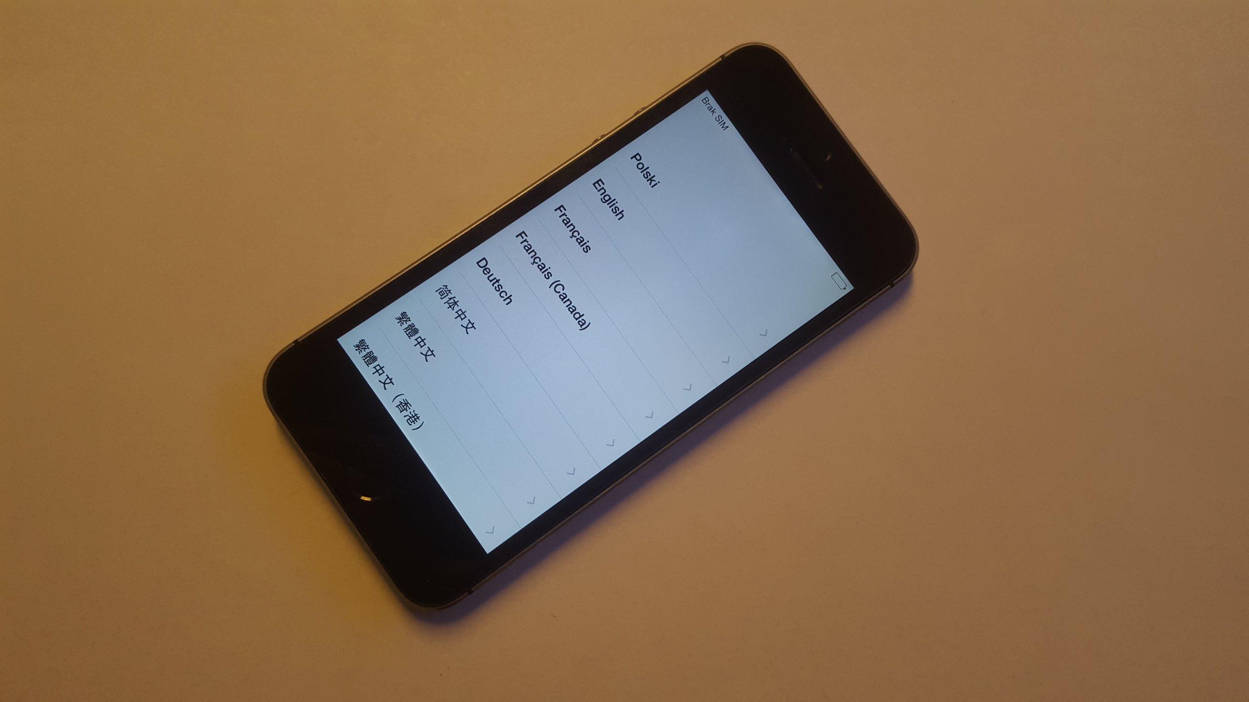 iphone5s mp4分辨率_iPhone 5S 16GB A1457 ICLOUD 100% SPRAWNY FAKTURA - 7040456208 - oficjalne archiwum Allegro
