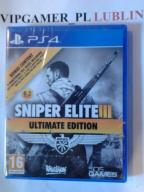 SNIPER ELITE III 3 ULTIMATE EDITION PL * LUBLIN *