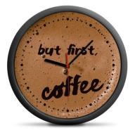 ZEGAR ŚCIENNY DLA KAWOSZA 30CM CAFFE