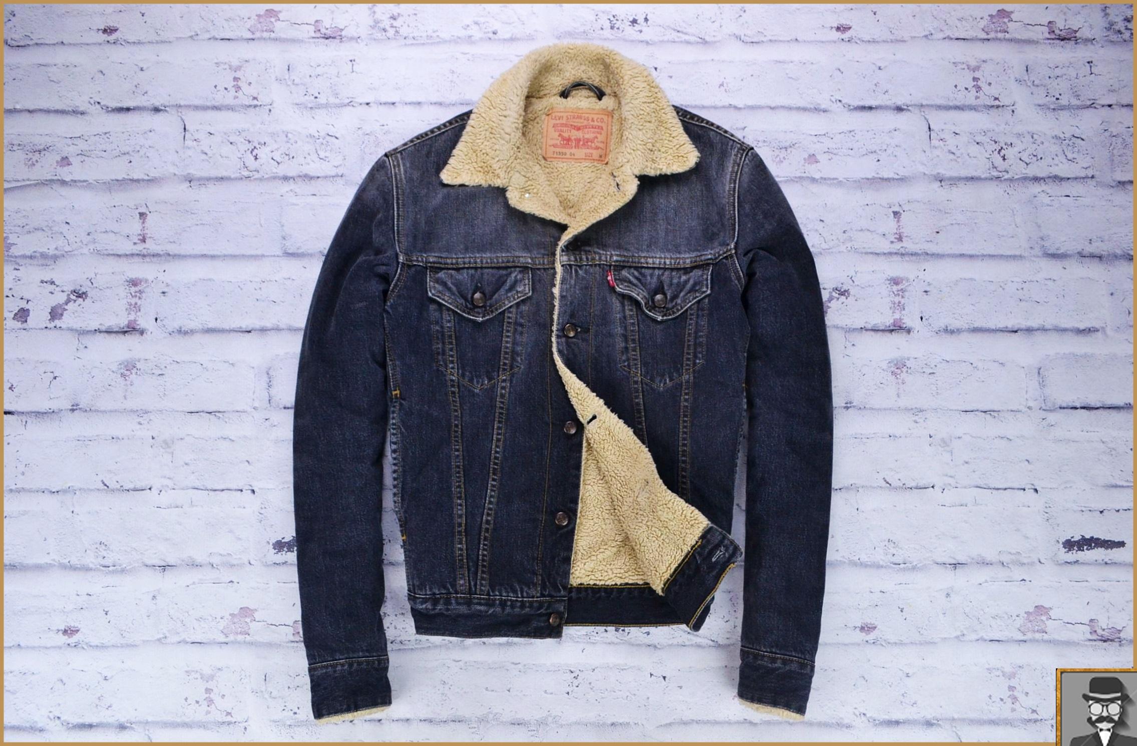 kurtka jeansowa z futerkiem damska levis