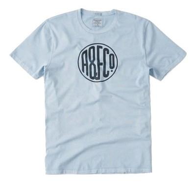 ABERCROMBIE HOLLISTER t-shirt koszulka LOGO L