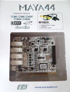 ESI MAYA44 PCI SPRAWNA Win XP/7/8/10 Kabel Gratis!