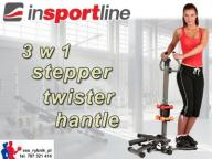 STEPPER Z KOLUMNĄ inSPORTline + TWISTER + HANTLE
