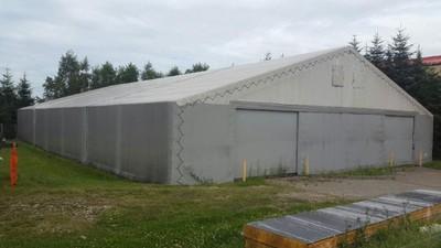 Namiot przemysłowy 22m x 35m x 3,5m pow.770 m2