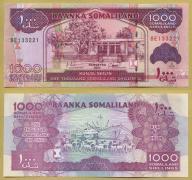 -- SOMALILAND 1000 SHILLINGS 2011 BE P20a UNC