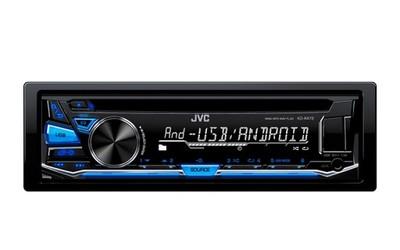 Radio Samochodowe Jvc Kd R472e Cd Usb Niebieskie 6779290804 Oficjalne Archiwum Allegro