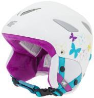 Kask narciarski Dziecięcy 4F KSU0001 Biały S 55-56