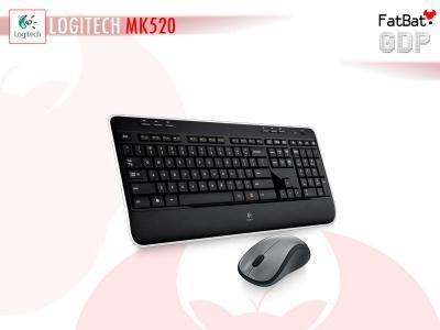 Zestaw MK520 Logitech Mysz M310 Klawiatura K520