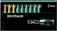 Zestaw bitów Bit-Check Rapidator 10 szt. WERA