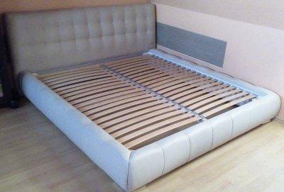 Bog Fran łóżko łoże Tapicerowane 200x220 Stelaż