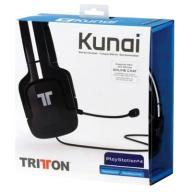 Słuchawki TRITTON KUNAI PS3 PS4 PSVITA Czarne EX