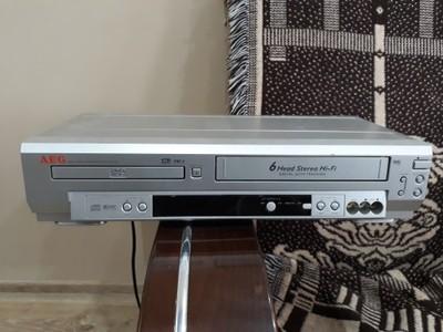 AEG VCR-D4501 DVD Player-VHS Rekorder Kombi