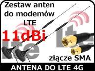 Zestaw anten do modemów LTE Huawei ZTE MF 283+