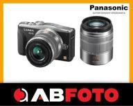 Panasonic DMC- GF6W Lumix 14-42 + 45-150 czarny