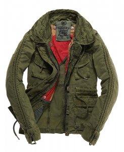 Superdry Flag Jacket Kurtka Militarna Damska 6524909012 Oficjalne Archiwum Allegro