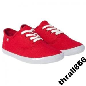 Czerwone trampki HD !!! R. 41 6190280286 oficjalne