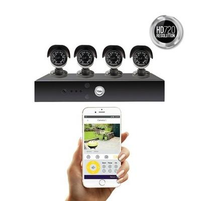 Wspaniały Yale monitoring domowy 4 kamery nagrywarka HD - 7031350895 BZ53