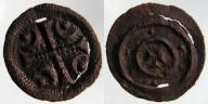2228. WĘGRY, BELA III (1172-1196) DENAR