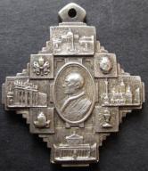 Stary Medal Pius XII Rzym (275)