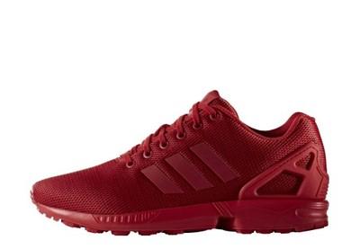 buty adidas zx flux czerwone allegro