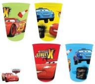 zestaw 4 kubki kubek Disney CARS AUTA SAMOCHODY