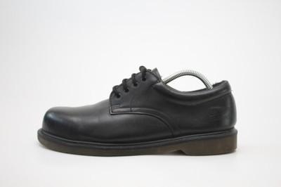 DR. MARTENS__skórzane buty glany blacha r. 43