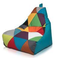 Kolorowa Pufa fotel siedzisko Keiko S Mix nowa