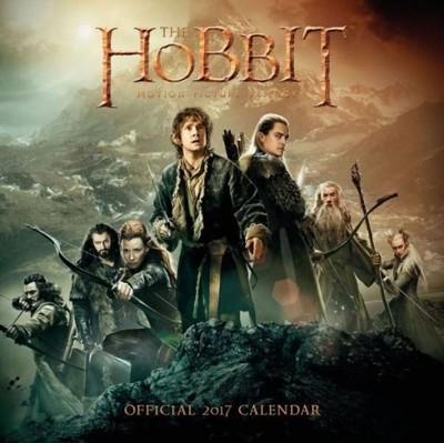 The Hobbit Trylogia - kalendarz 2017