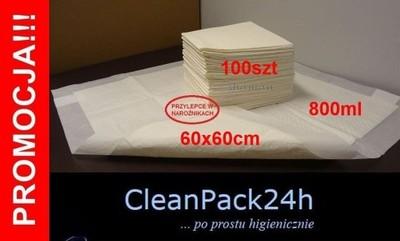 CEZAR Chłonne podkłady higieniczne maty 60x60 50