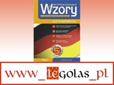 Wypracowania Wzory Język Niemiecki Szkoła średnia 3867022991