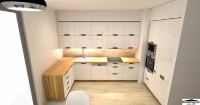 Projekt Wnętrz 3d Kuchnia łazienka Garderoba
