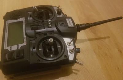 Turnigy 9x v2 8CH Aparatura RC+odbiornik + LiPo 3S