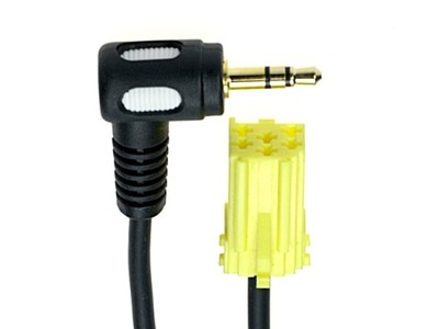 kabel aux in fiat grande punto mini jack 3,5mm kąt - 6676468507