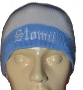 d5e10aeceb585 czapka zimowa Stomil Olsztyn Stomilu OKS 1945 - 4771741241 ...