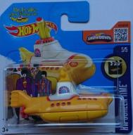 HOT WHEELS 2017 BEATLES YELLOW SUBMARINE DTX33 24H