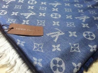 Chusta Szal Apaszka A La Louis Vuitton Lv Monogram 6839996676 Oficjalne Archiwum Allegro