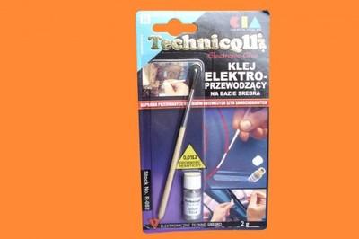 Klej elektroprzewodzący do szyb TECHNICQLL 2g R082