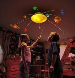 Interaktywny model układu słonecznego