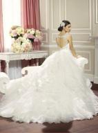 Suknia ślubna Moonlight J6321 rozmiar 38