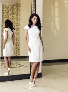 Sukienka Suknia ślub Cywilny Poprawiny Roz 36 S 5947982290