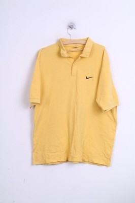 Nike koszulka polo męska żółta XL