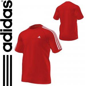 adidas koszulka ESS 3S CREW T X19205 czerw. roz.M
