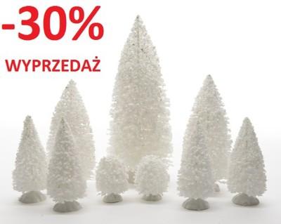 Dekoracja Ozdoba świąteczna Choinki Białe 488586