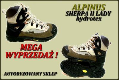 54b4cc0b8456e Buty * Alpinus * Sherpa II Lady WYPRZEDAŻ! r.37 - 2535506385 ...