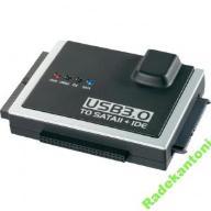 PRZEJŚCIÓWKA ADAPTER USB 3.0 CONRAD WTYK SATA/IDE